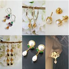 different types of earrings types of earrings nafisa designs