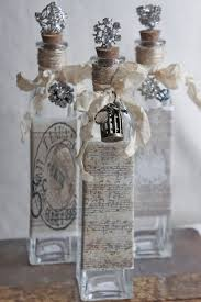 Wine Bottle Home Decor Recycle A Wine Bottle Into A Pretty Vase Spray Painting Bottle