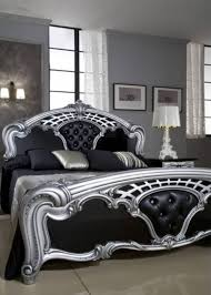 Black Bed Room Sets Black And Silver Bedroom Sets And Photos Madlonsbigbear