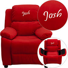 dozy dotes theater kids recliner with cup holder reviews wayfair