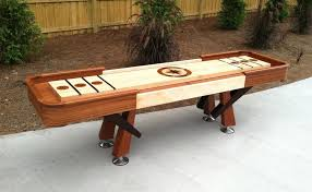 Antique Shuffleboard Table For Sale Furniture Magnificent Shuffleboard Table For Indoor Game Used