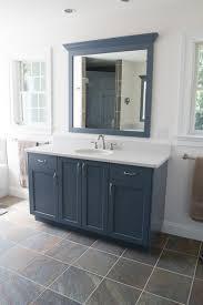 Blue Bathroom Vanity by Slate Blue Bathroom Transitional Bathroom Philadelphia By