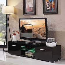 tv stand cabinet with drawers high gloss tv stand unit cabinet console furniture with led shelves