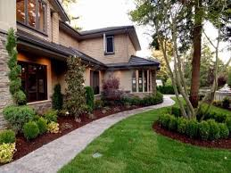 modern front yard landscaping best tree for front yard image of modern front yard landscaping
