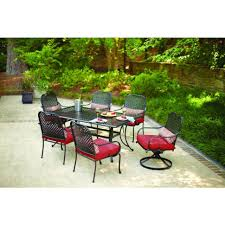 Hampton Bay Patio Dining Set - 7 gallery design and furnirture