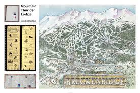Breckenridge Colorado Map by Patrick Gerace U2013 Illustrator Mountain Thunder Lodge At Breckenridge