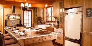 cuisine merisier au travers des époques cuisine bois merisier granit