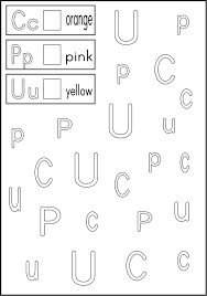 letter recognition worksheets for kindergarten u0026 17 best ideas