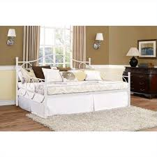 Daybed With Storage Metal Full Daybed In White 4022139