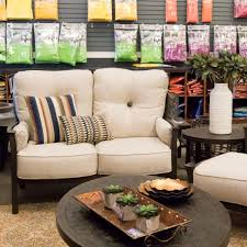 Patio Furniture Dallas Tx with Castelle Santa Fe Cushion High Back Loveseat Outdoor Furniture