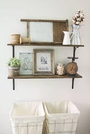 laundry room wall shelves best 25 laundry room shelves ideas on