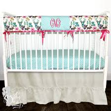 deer woodland baby crib bedding