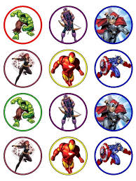 marvel cake toppers free printable cupcake toppers cakepins visit to