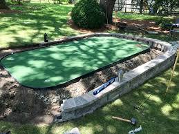 how to diy a backyard putting green on the cheap dirty larry golf