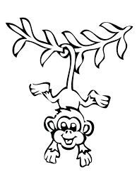 printable coloring pages monkeys baby monkey coloring pages monkey coloring page sock monkey coloring