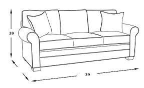 Standard Sofa Length by Normal Sofa Length Sofa Menzilperde Net