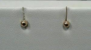 starter earrings s 10k yellow gold stud starter earrings ebay