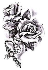 45 best skull rose and cross tattoo images on pinterest bodies