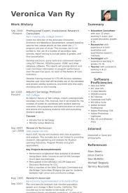 Scientific Resume Examples by Research Consultant Resume Samples Visualcv Resume Samples Database