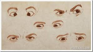 drawing eye expressions in easy steps