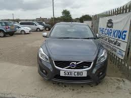 volvo c30 2 5 t5 r design 2dr grey 2011 in saxilby