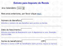 demonstrativo imposto de renda 2015 do banco do brasil extrato inss irpf e pagamentos 2017 2018