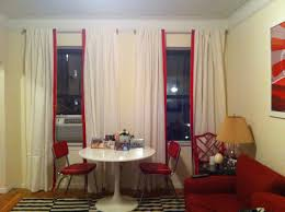 Ikea Laminate Floor Interior White Ikea Curtains In Red Details Mixd With Attractive