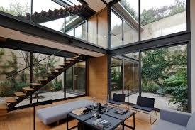 houses with courtyards in the middle andrés stebelski arquitecto office archdaily