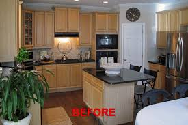 cabinet refinishing makeover more than color
