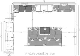 Kitchen Cabinet Layouts Design designing kitchen and cabinet layouts wholesteading com