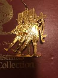 danbury mint gold ornament collection ebay