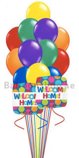 welcome home balloon bouquet 14 balloons welcome home balloon bouquet delivery in dubai abu