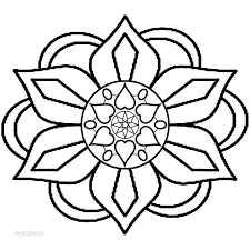Printable Rangoli Coloring Pages For Kids  Cool2bKids  coloring