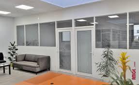 cloison aluminium bureau cloison amovible en aluminium de bureau acoustique amge