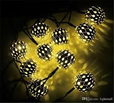 solar powered led fairy lights best 3 3m 10 balls moroccan string lights solar outdoor powered led