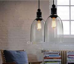 Suspension Industrielle Ikea by Online Buy Wholesale Glass Hanging Lights From China Glass Hanging