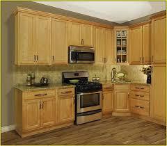 Kitchen Cabinet Modern Design Fine Kitchen Color Schemes With Dark Oak Cabinets Ideas And Black