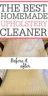 homemade upholstery cleaner upholstery cleaner simple diy and