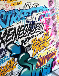 graffiti design superfreshdesign branding typography direction design