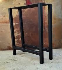 Flat Bar Table Legs Metal Table Legs Trapezoid Flat Bar By Steelimpression On Etsy