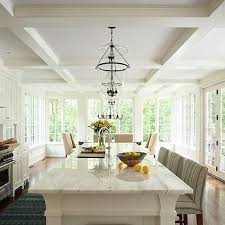 kitchen ceiling ideas coffered kitchen ceiling design ideas