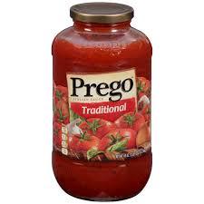 wedding gift spaghetti sauce prego tomato basil garlic pasta sauce 24 oz walmart