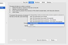 format exfat partition ubuntu how to format a usb flash drive on a mac techwalla com
