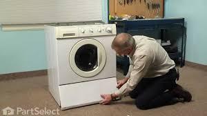 washing machine repair replacing the drain pump frigidaire part