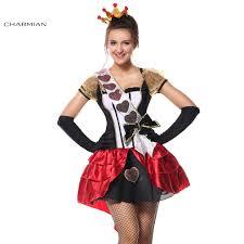 online get cheap red queen halloween costume aliexpress com