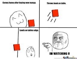 Meme Throws Table - i m watching you by devastatingwarrior meme center