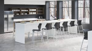 Lacasse Conference Table Nex Bar Height Table By Groupe Lacasse Dynamic Office Services
