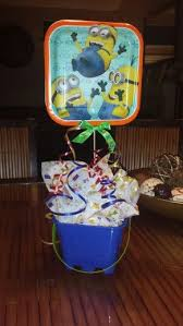 minion centerpieces minion centerpiece my creations minion
