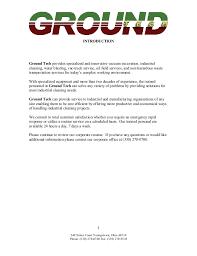 Resume Blast Service Ground Tech Resume