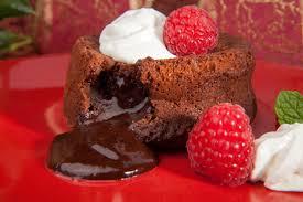 mini chocolate lava cakes